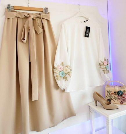 Шикарная блузка и юбка , привезли из Турции.
