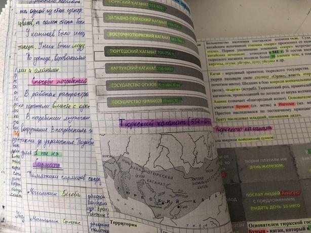 Материал для ЕНТ по истории Казахстана