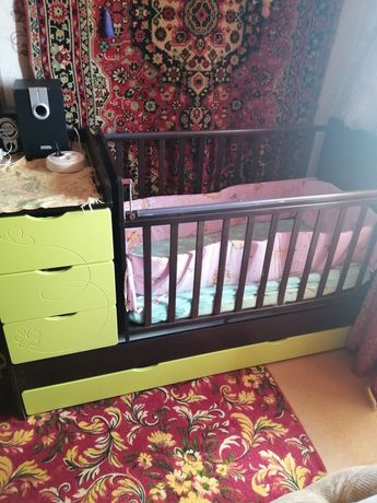 Продам детскую кроватку от 0 до 14 лет за 40 000 тенге