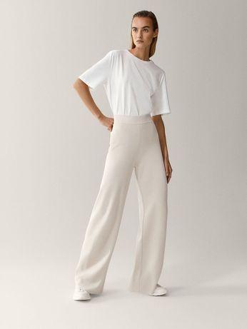 Pantaloni Massimo Dutti, tricotati