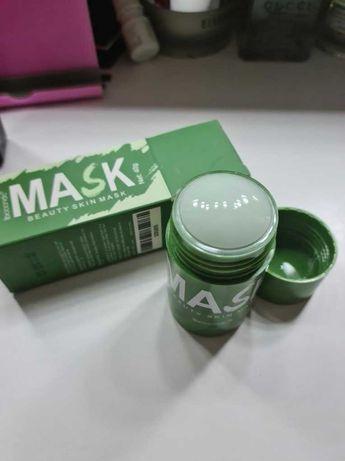 Самая эффективная маска от прыщей. Зеленая маска от черных точек!