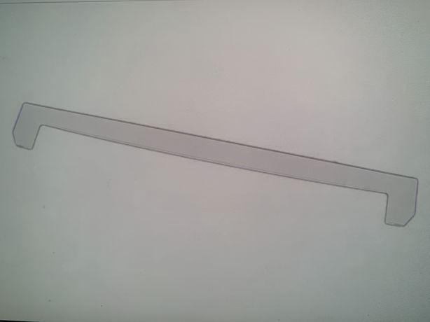 Profil anterior fata polita geam frigider beko arctic  nou