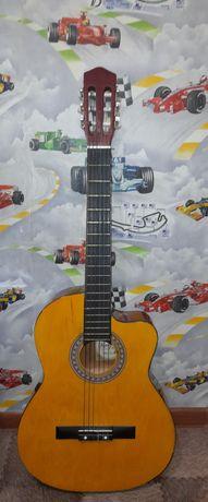Гитара акустическая !!+чехол