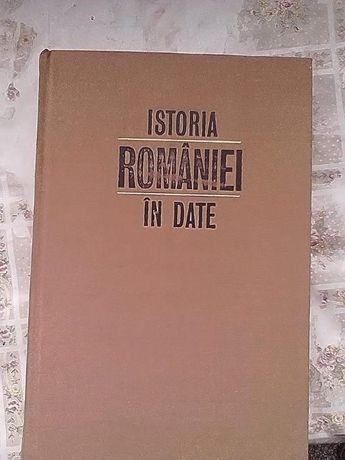 Istoria Romaniei in date de Constantin C. Giurescu