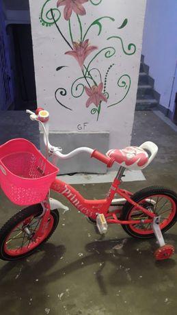 Велосипед для девочек возраст 3-5л