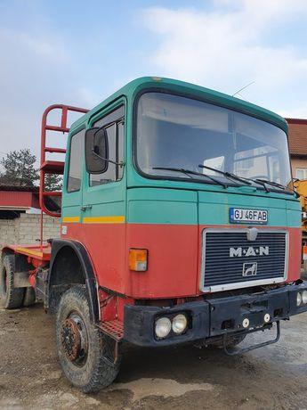 Man 19321 FAS 4x4 320CP 1984 cap tractor forestier troliu agricola