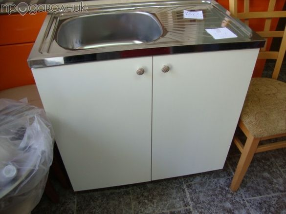 Нов Кухненски шкаф с мивка 18см 80/50 шкафове за кухня