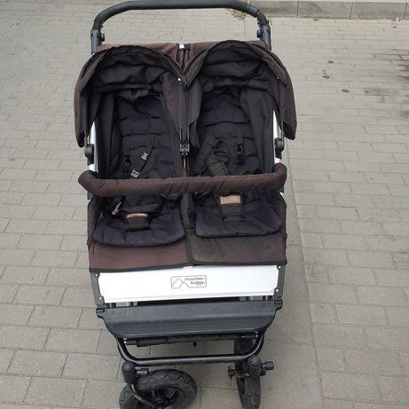 Детска количка за близнаци Mountain buggy duet
