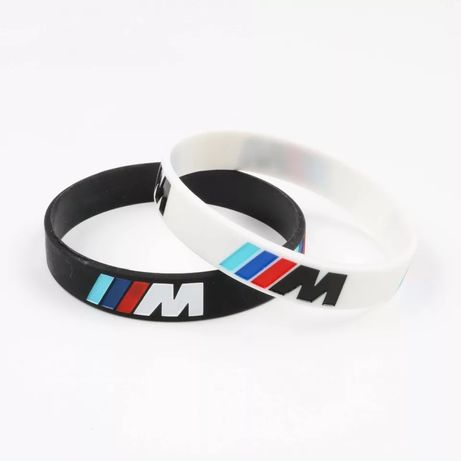 Set 4 Bratari silicon Bmw M unisex