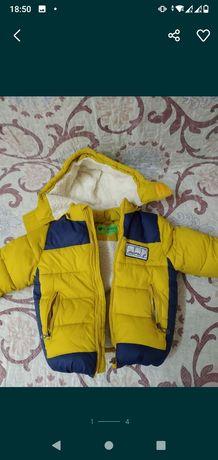 Куртка дутыш, ростовка 110 см.