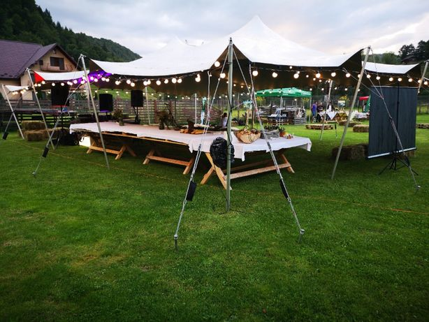 Inchiriere corturi nunti, festivaluri, petreceri 9x12 m elegante