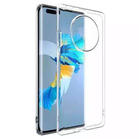 Huawei Mate 30 Pro / Mate 40 Pro - Husa Din Silicon Transparenta