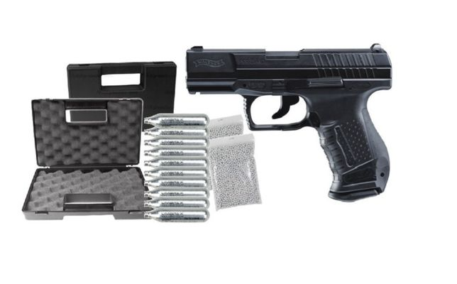 Vând Pistol Airsoft CO2 Walther P99 DAO Upgraded 4J, Umarex