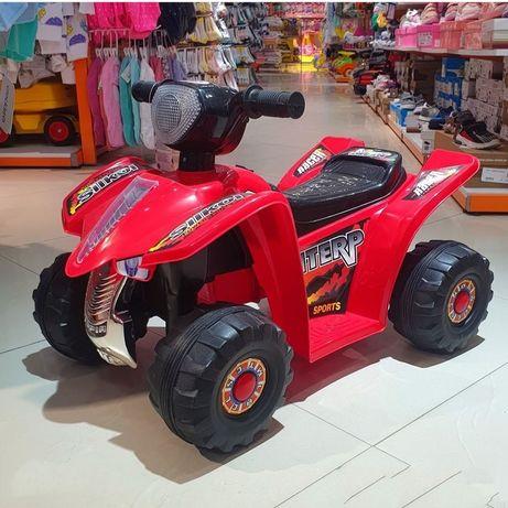 Квадроцикл Bugati на аккум. красный