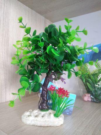 Декоративные деревья в аквариум