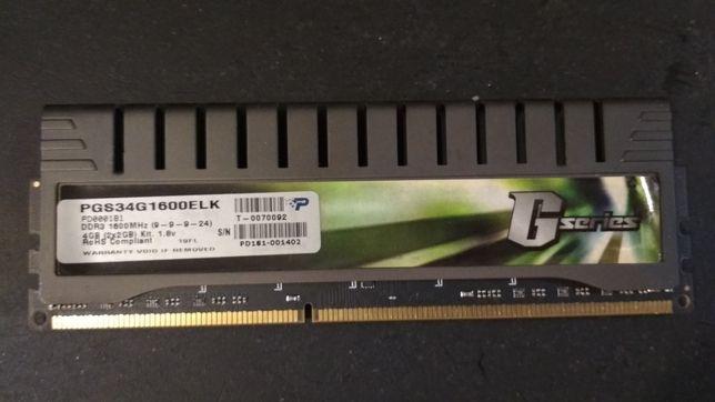 Модули памяти DDR3 1600MHz PATRIOT G series