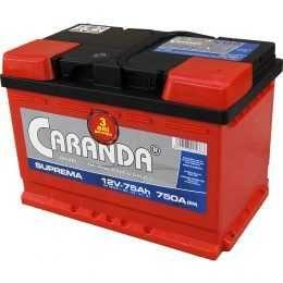 Baterie auto Caranda Suprema 75Ah 750A Garantie 3 ani