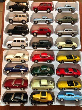 Colectie Macheta vw transporter mercedes cobra ford mustang porsche