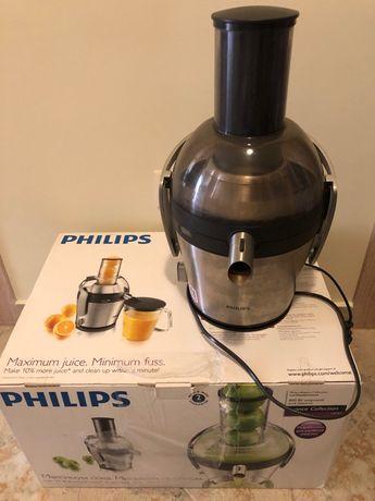 Storcator de fructe Philips HR1871/00, 800 W, 1,5 l
