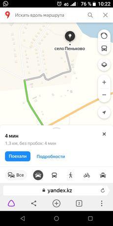 земельный участок в село Пеньково