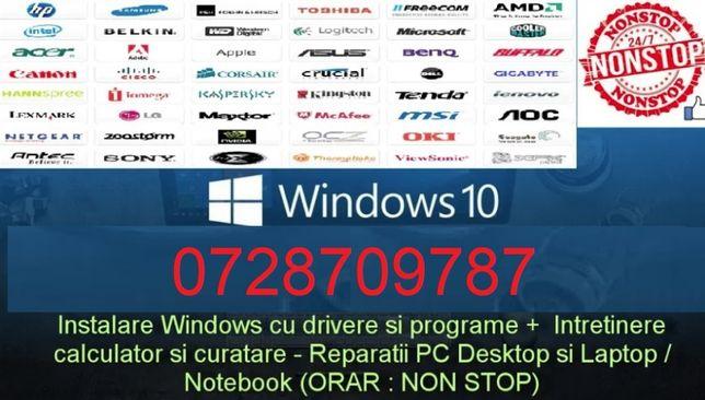 Instalare Windows 10,la domiciliu,Reparatii,update bios SSD-garantie
