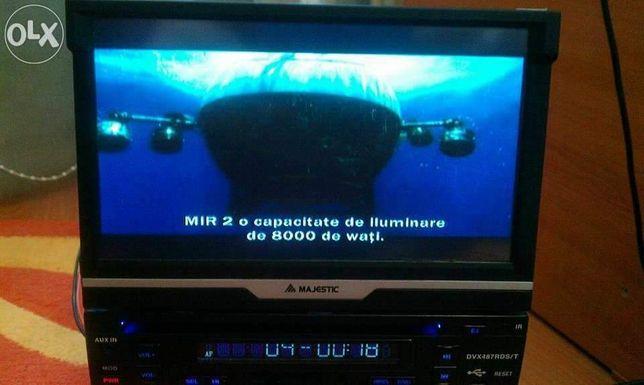 Dvd auto 1din,retractabil,touchscreen,usb,sdcard,4x50w