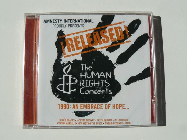 CD ¡Released! The Human Rights Concerts -1990: An Embrace Of Hope.