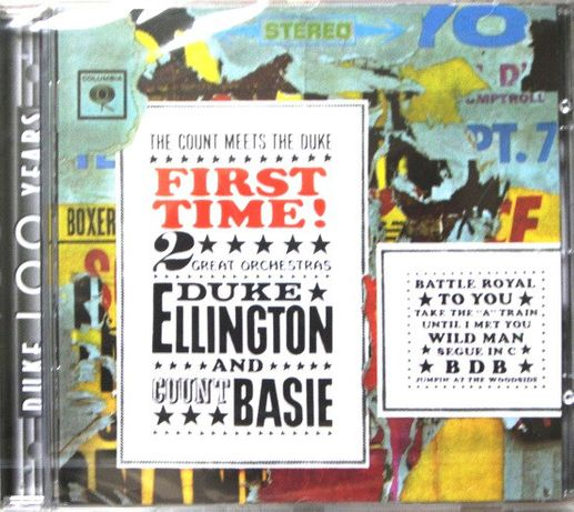 CD Duke Ellington And Count Basie – First Time! The Count Meets The D