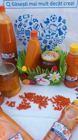 Catina, sirop de cătină și miere de albine
