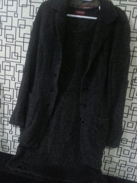 Set rochie+sacou fete iarna S