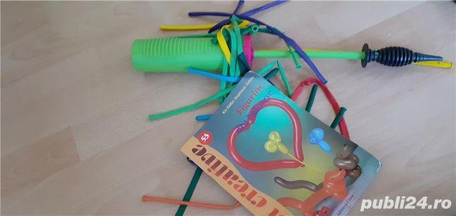 Trusa pompa, baloane, instructiuni + geanta + training