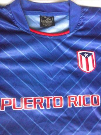 Puerto Rico футболна фланелка