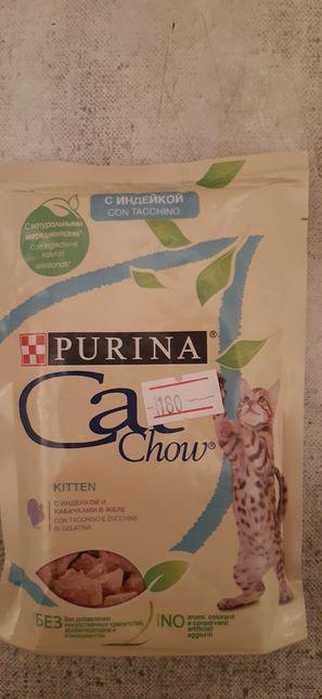 Кет чао желе корм для кошек