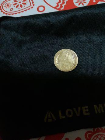 1 стотинка 1981,, Хиляда и триста години България,,