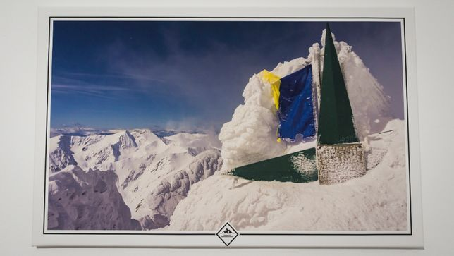 Tablou peisaj montan Fagaras - Varful Lespezi (model 4)