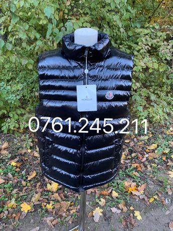 Vesta Moncler Original made in Romania, vesta lucioasa barbat