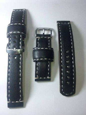 Curele de ceas din piele lucrate manual