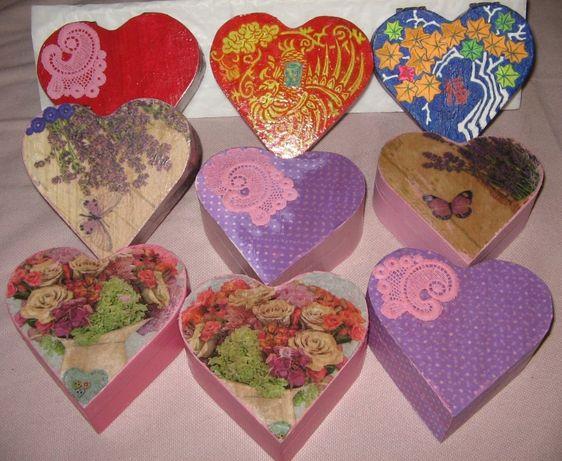 Кутийки за бижута с ръчно рисувани орнаменти