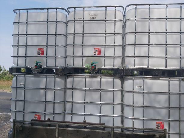 Bazin - cub - rezervor - ibc 1000 litri ca noi/ posibilitate transport
