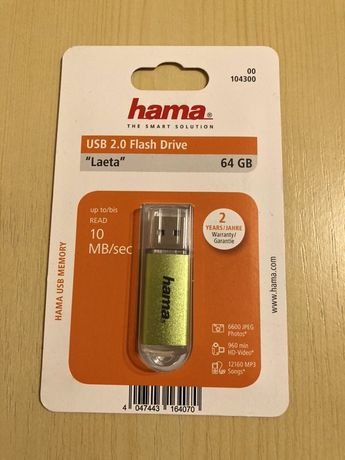 Stick Memorie USB Hama 64GB Nou