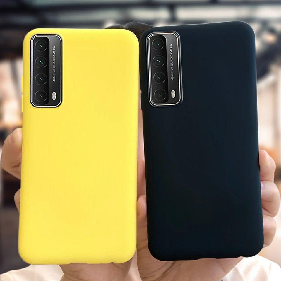 Матов Силиконов Кейс за Huawei P Smart 2021 / P20 P30 Lite Mate Pro