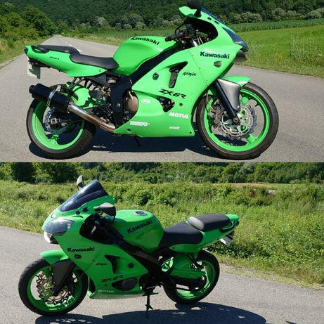 Kawasaki zx6r ninja stare excelenta cu multe îmbunătățiri(CBR GSXR R6)