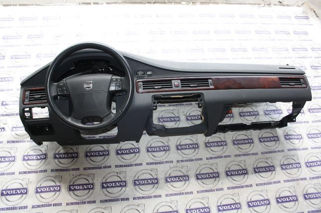 Kit airbaguri volan pasager plansa bord Volvo S80 V70 XC70, 2007-2011