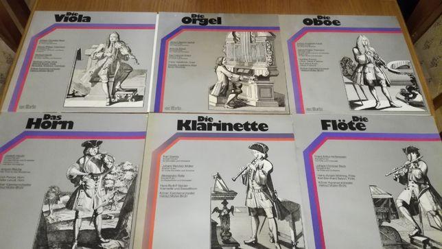 Vinil/vinyl - J.Chr.Bach-Telemann-Haydn-Vanhal-Salieri-Graun-Fasch,etc