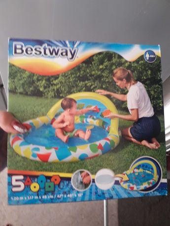 Продам детский бассейн.новый.со скидкой 6000тг.