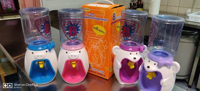 Dozator de apa pentru copii, 2 litri, modele haioase.