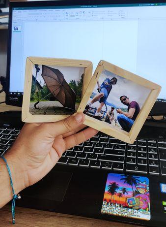 Mini poze înrămate