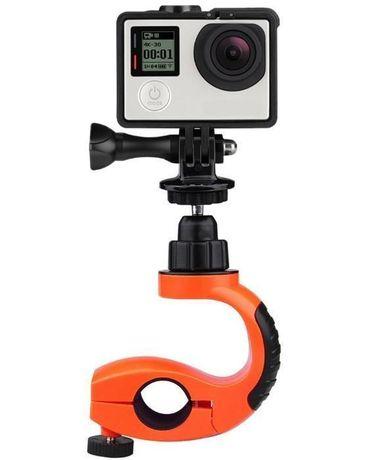 Изнесена тръбна стойка с ротация за екшън камери gopro и др   hdcam.bg