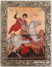 Икона на Свети Георги Победоносец icona Sveti Georgi Pobedonose