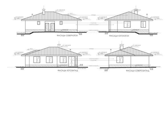 Нова къща на 70 км от София